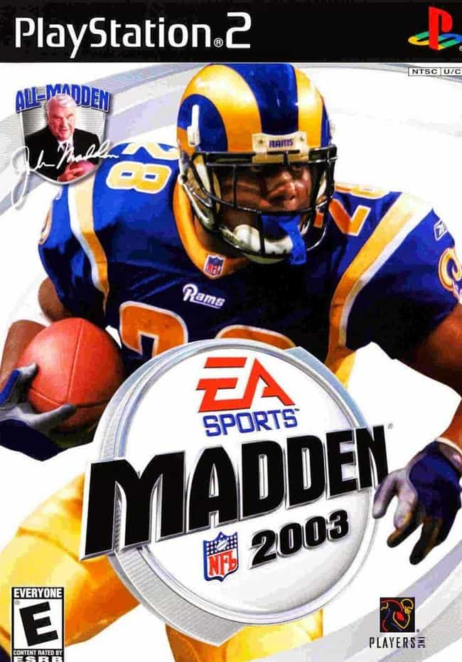 Marshall Faulk is listed (or ranked) 4 on the list The Worst Cases of the Madden Curse That'll Make You Believe