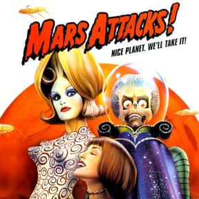 Mars Attacks! is listed (or ranked) 14 on the list The Best Movies of 1996