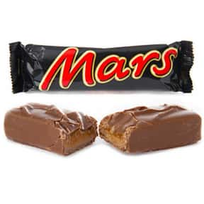 Mars is listed (or ranked) 13 on the list The Best Chocolate Bars