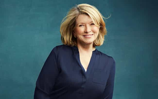 Martha Stewart is listed (or ranked) 2 on the list 7 Celebrities Who Are Allergic to Shellfish