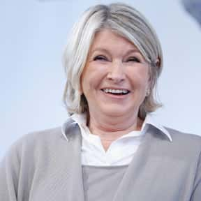 Martha Stewart is listed (or ranked) 6 on the list Famous People Whose Last Name Is Stewart