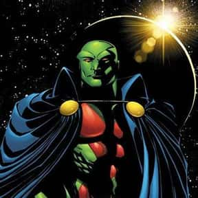 Martian Manhunter is listed (or ranked) 10 on the list Comic Book Characters We Want to See on Film