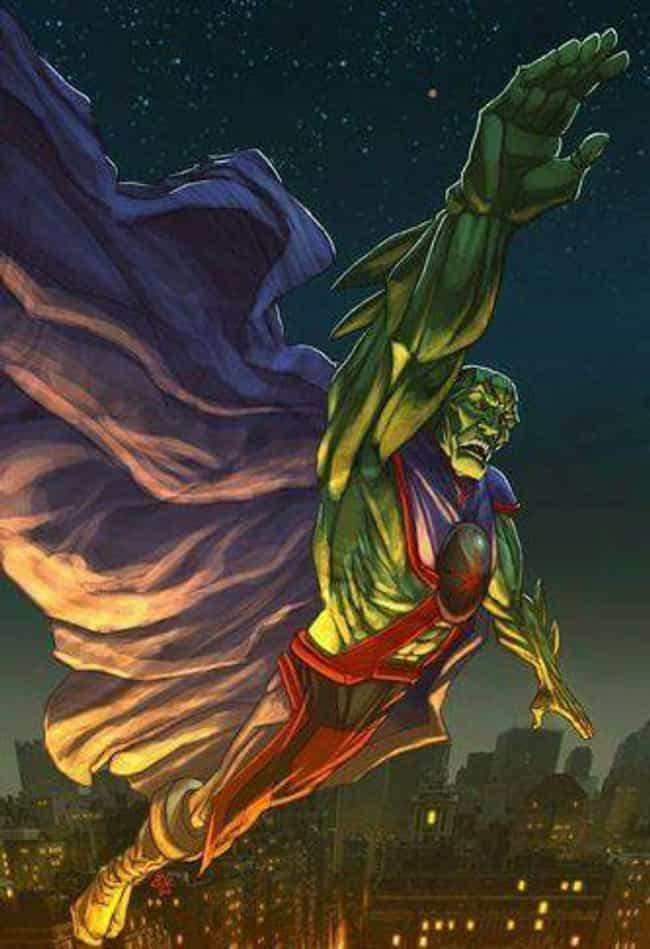 Martian Manhunter is listed (or ranked) 4 on the list Which Hogwarts House Would Each Justice League Member Be Sorted Into?