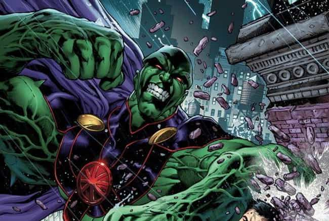 Martian Manhunter is listed (or ranked) 3 on the list The Best Shapeshifting Superheroes