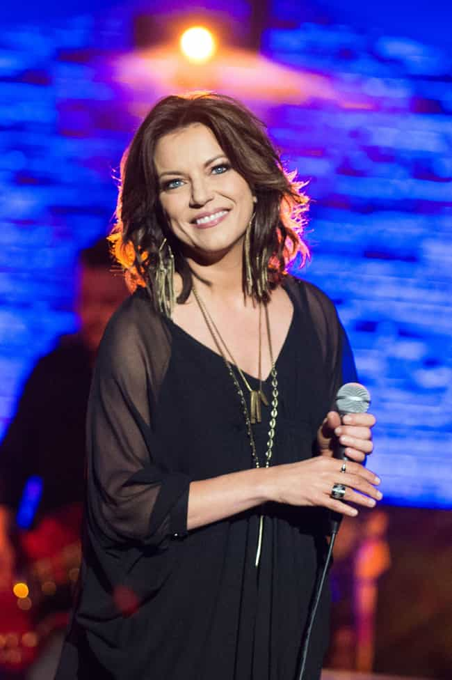 Martina McBride is listed (or ranked) 4 on the list Celebrities Who Live In Nashville