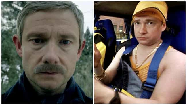 Martin Freeman is listed (or ranked) 2 on the list 17 Other Places You've Seen the Actors from Sherlock