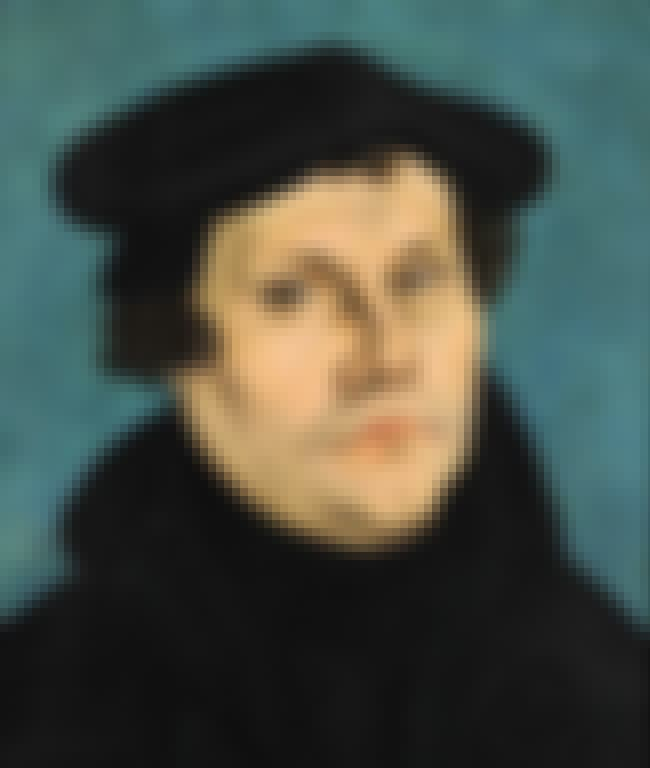 Martin Luther is listed (or ranked) 1 on the list List of Famous Monks