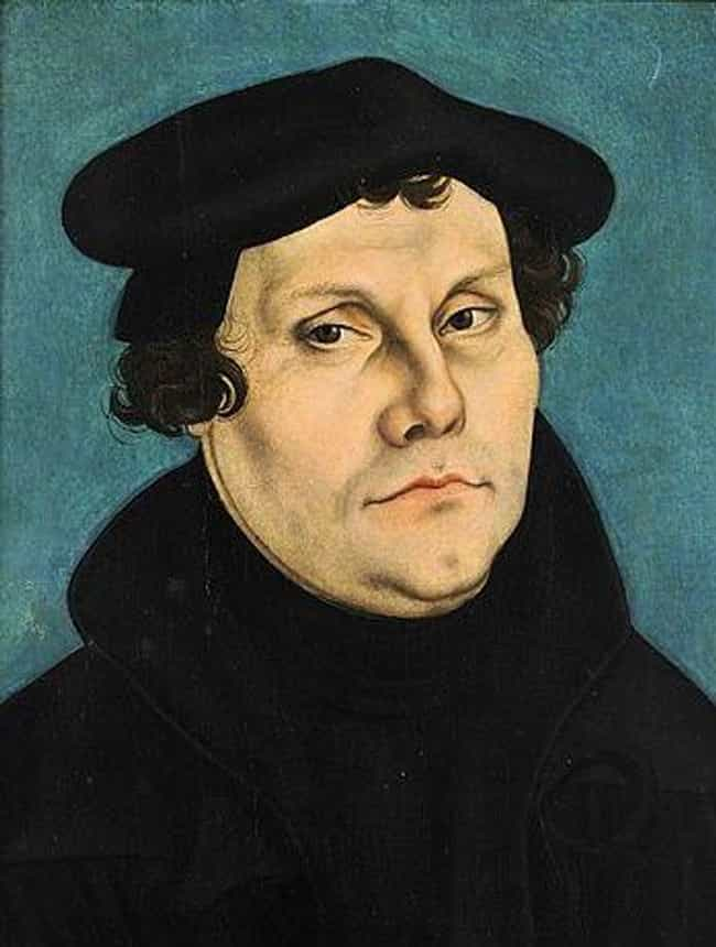 Martin Luther is listed (or ranked) 3 on the list 12 Widely Influential Historical Figures Who Loved Fart & Dick Jokes