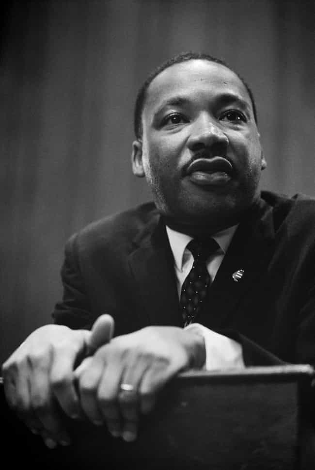 Martin Luther King, Jr. ... is listed (or ranked) 5 on the list Famous People You Didn't Know Were Boy Scouts