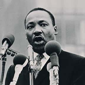 Martin Luther King, Jr. is listed (or ranked) 6 on the list Famous Boston University Alumni