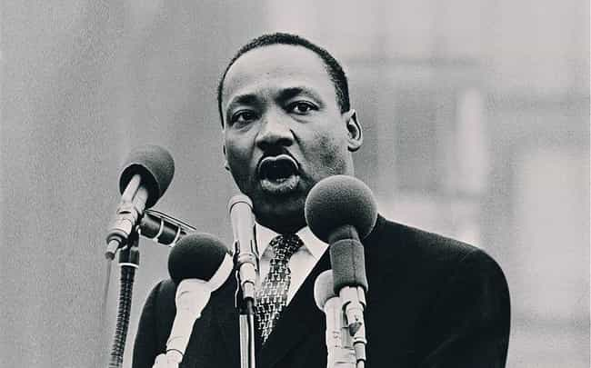 Martin Luther King, Jr. is listed (or ranked) 1 on the list Famous Male Pastors