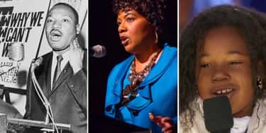 Martin Luther King Jr.'s Daughter Follows In Her Dad's Footsteps, And His Granddaughter Has A Powerful Voice As Well