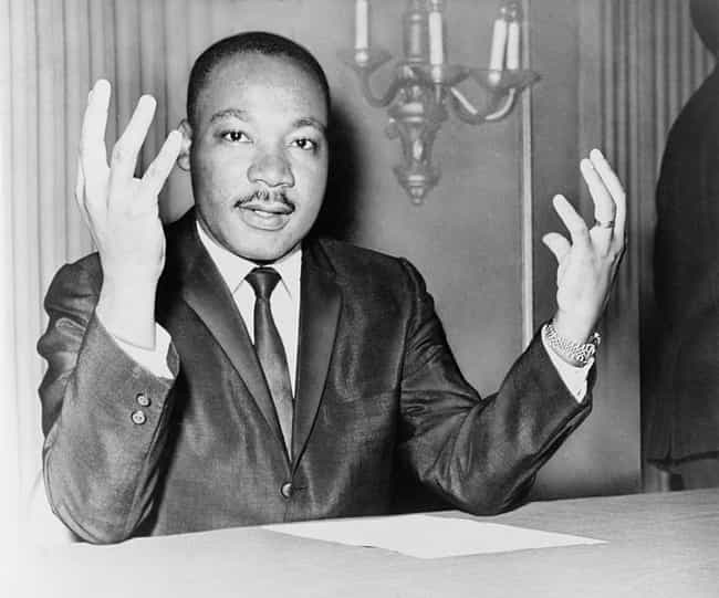 Martin Luther King, Jr. ... is listed (or ranked) 1 on the list Famous People Who Are Capricorn