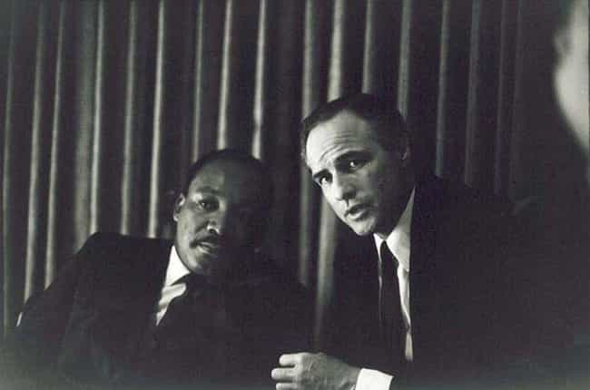 Martin Luther King, Jr. is listed (or ranked) 4 on the list Famous People You Never Thought Would End Up in the Same Pic