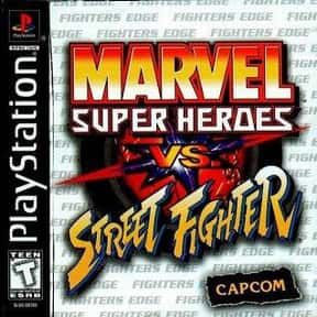 Marvel Super Heroes vs. Street is listed (or ranked) 8 on the list The Best Sega Saturn Fighting Games