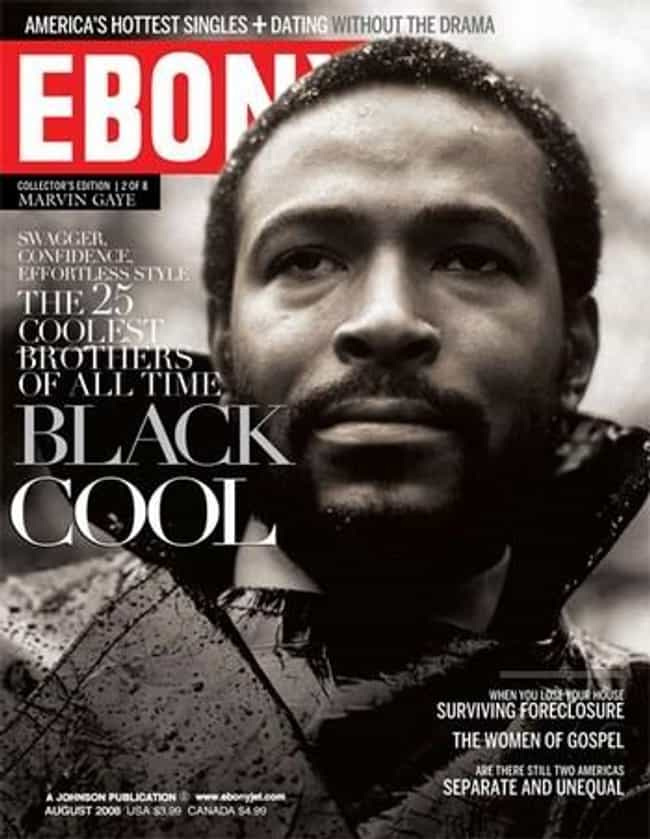Marvin Gaye is listed (or ranked) 4 on the list The Best Ebony Covers