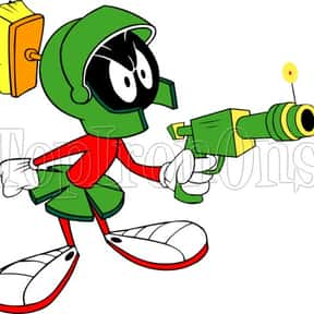 Marvin the Martian is listed (or ranked) 6 on the list The Best Alien Characters of All Time