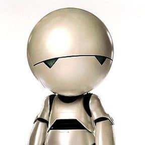 Marvin the Paranoid Android is listed (or ranked) 17 on the list The Greatest Robots of All Time