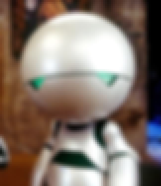 Marvin the Paranoid Android is listed (or ranked) 4 on the list Smartass Robots You'd Want As Your Bestie