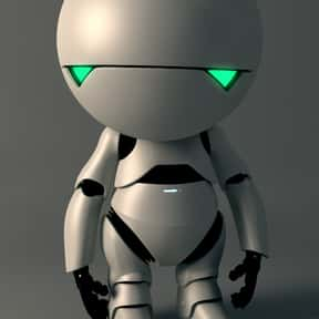 Marvin is listed (or ranked) 8 on the list The Cutest Robots In Movies And TV, Ranked