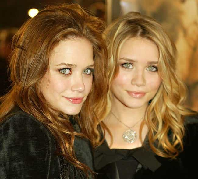 Mary-Kate and Ashley Ols... is listed (or ranked) 2 on the list Celebrity Twins