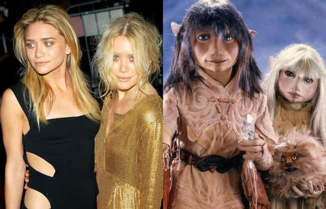Mary-Kate and Ashley Ols... is listed (or ranked) 4 on the list Child Stars Who Grew Up to Look Like Muppets