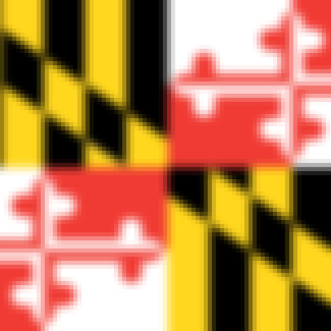 Maryland is listed (or ranked) 1 on the list The Best US State Flag