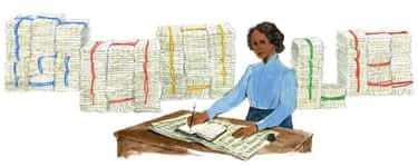 Mary Ann Shadd is listed (or ranked) 1252 on the list Every Person Who Has Been Immortalized in a Google Doodle