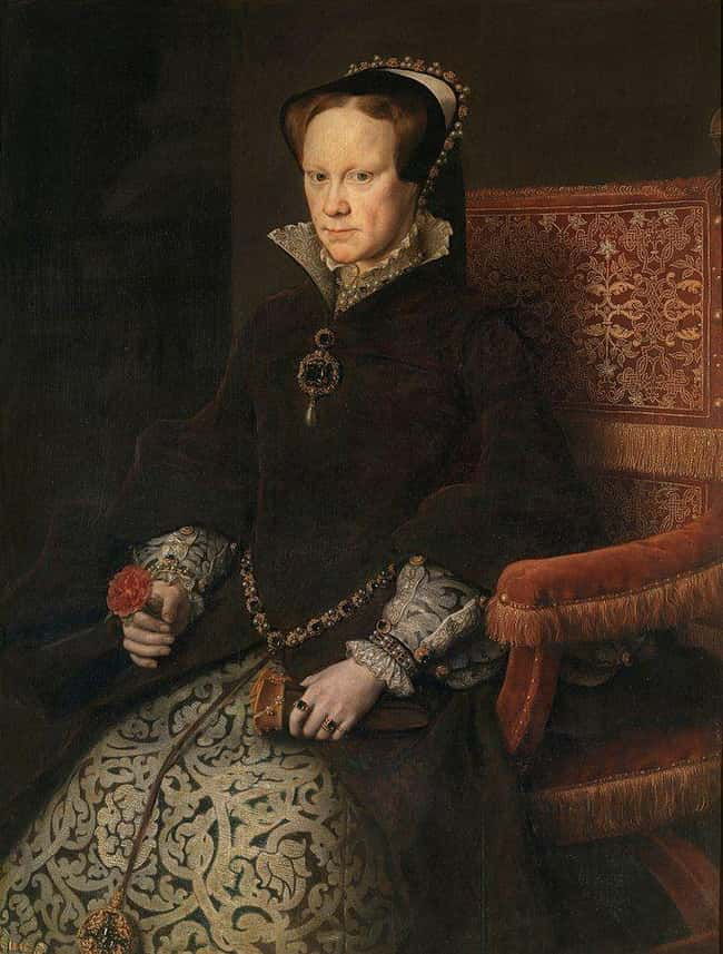 This image has an empty alt attribute; its file name is mary-i-of-england-photo-u4