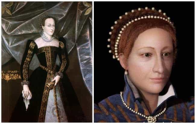 Mary, Queen of Scots is listed (or ranked) 3 on the list Here's What Famous Historical Figures Really Looked Like