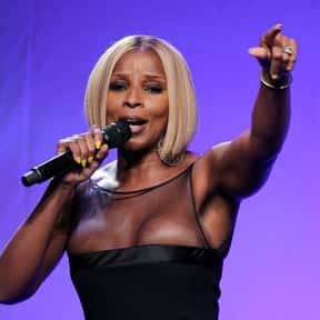 Mary J. Blige is listed (or ranked) 14 on the list The Greatest R&B Artists and Bands of All Time