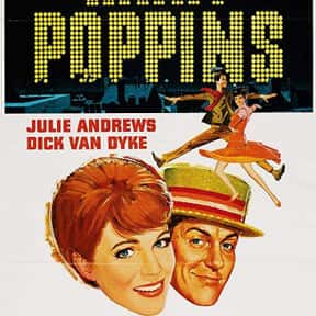 Mary Poppins is listed (or ranked) 9 on the list The Best Disney Live-Action Movies