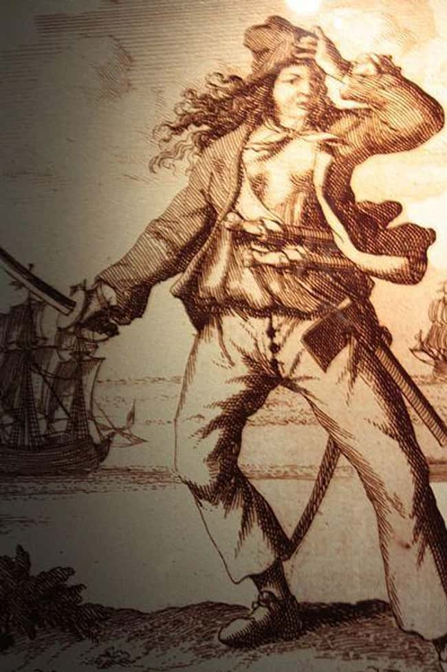Mary Read is listed (or ranked) 10 on the list 12 Times Women Disguised As Men Made History