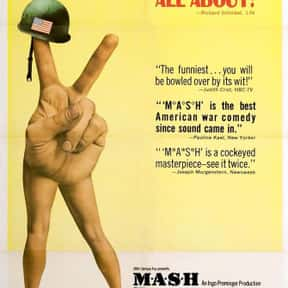 MASH is listed (or ranked) 16 on the list The Best Robert Duvall Movies