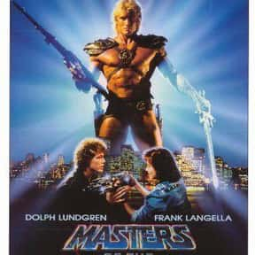 Masters of the Universe is listed (or ranked) 22 on the list The Best Classic Kids Movies That Are Kind of Dark