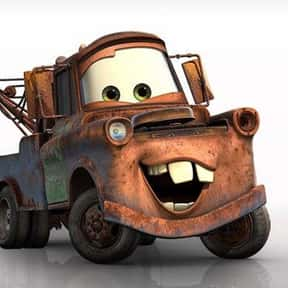 Mater is listed (or ranked) 16 on the list The All-Time Greatest Pixar Characters