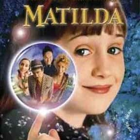 Matilda is listed (or ranked) 11 on the list The Greatest Kids Movies of the 1990s