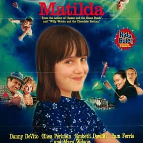 Matilda is listed (or ranked) 1 on the list The Best Movies With A Little Girl Protagonist