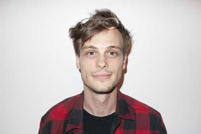 Matthew Gray Gubler is listed (or ranked) 1 on the list Taylor Swift's Loves & Hookups