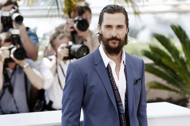 Matthew McConaughey is listed (or ranked) 7 on the list 34 Famous ENFJs