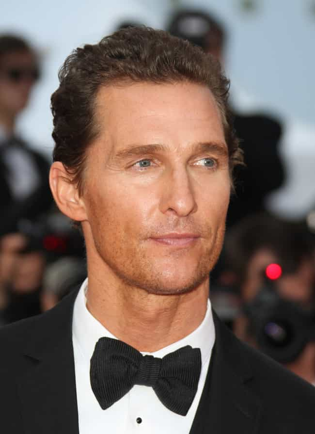 Matthew McConaughey is listed (or ranked) 2 on the list Celebrity Dodger Fans