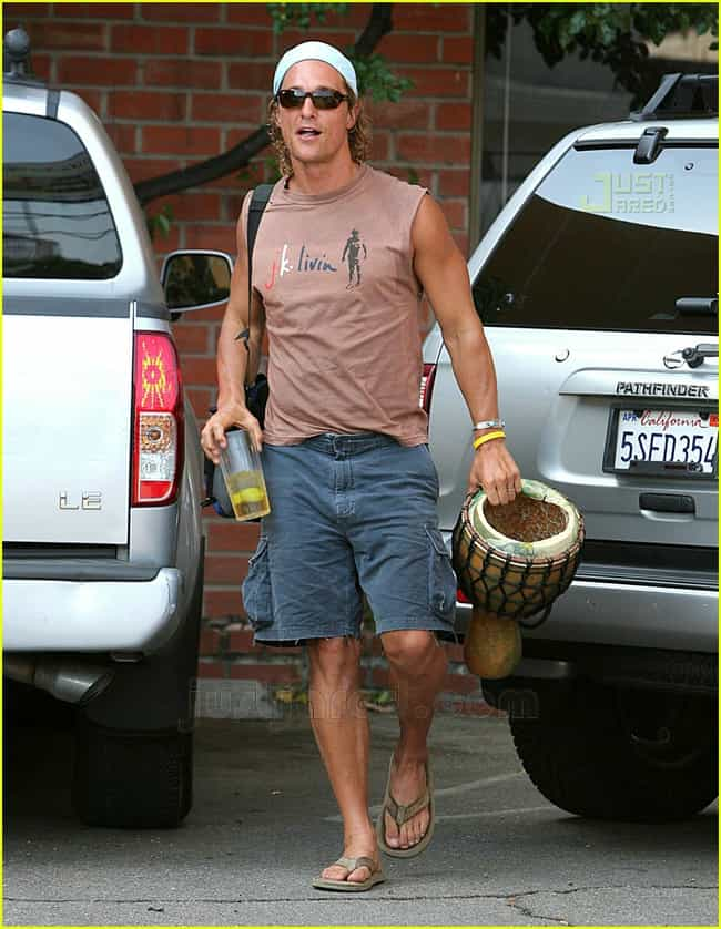 Matthew McConaughey is listed (or ranked) 2 on the list The Best Famous Guys to Hit a Strip Club With