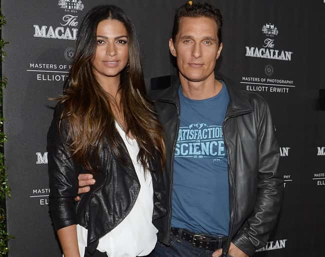 Matthew McConaughey is listed (or ranked) 39 on the list 48 Famous Couples with Huge Age Differences