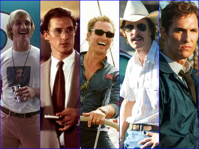 Matthew McConaughey is listed (or ranked) 2 on the list The Greatest Hollywood Comebacks of All Time