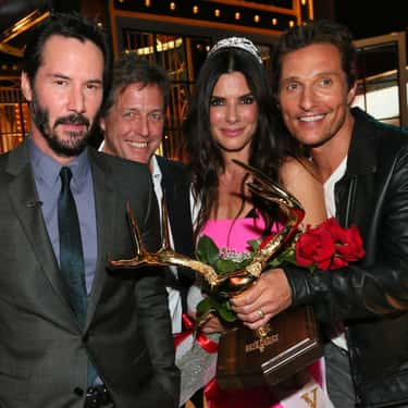 Matthew McConaughey is listed (or ranked) 2 on the list Famous Friends of Sandra Bullock