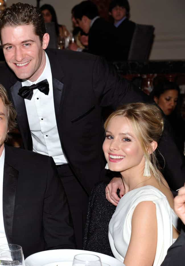 Matthew Morrison is listed (or ranked) 3 on the list Kristen Bell Loves and Hookups