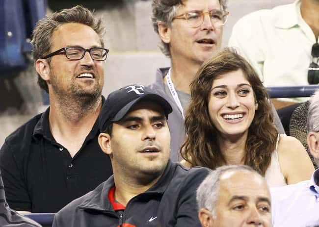 Matthew Perry is listed (or ranked) 44 on the list 48 Famous Couples with Huge Age Differences