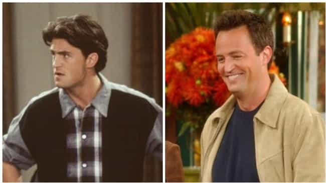 Matthew Perry is listed (or ranked) 1 on the list How the Cast of Friends Aged from the First to Last Season