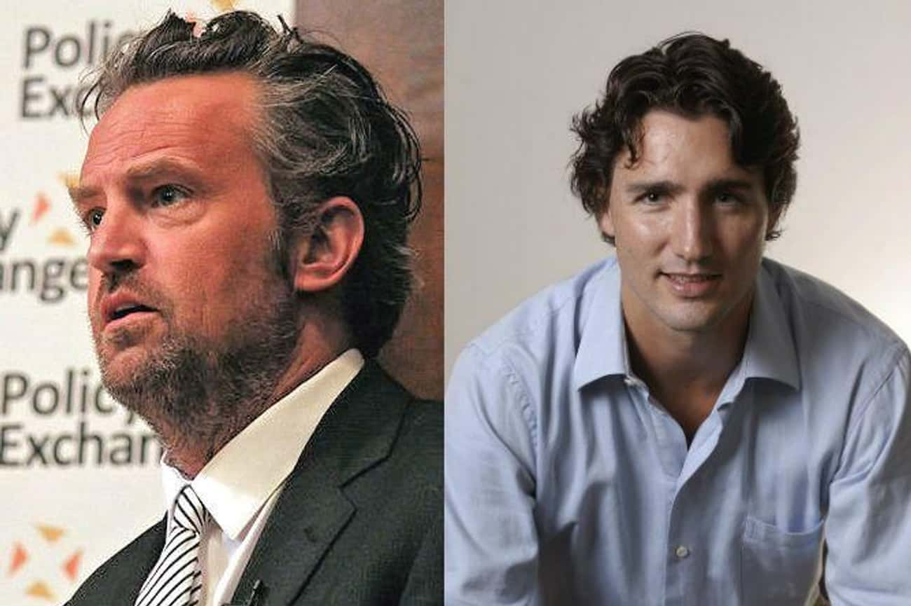 Matthew Perry & Justin Trudeau is listed (or ranked) 1 on the list Celebrities Who Went to Elementary School Together