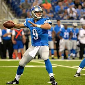 Matthew Stafford is listed (or ranked) 24 on the list The Best Quarterbacks to Never Win a Super Bowl